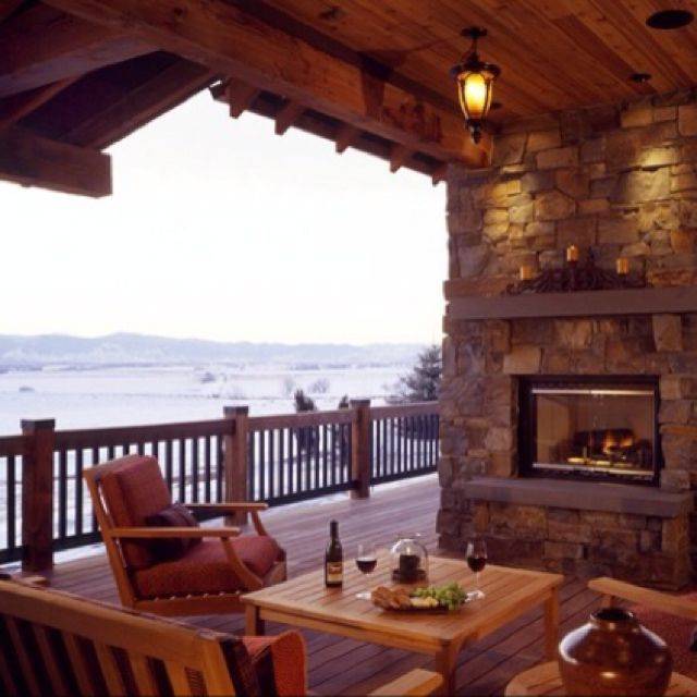 Fireplaces With A Perfect View Random Futura Casa Lareira