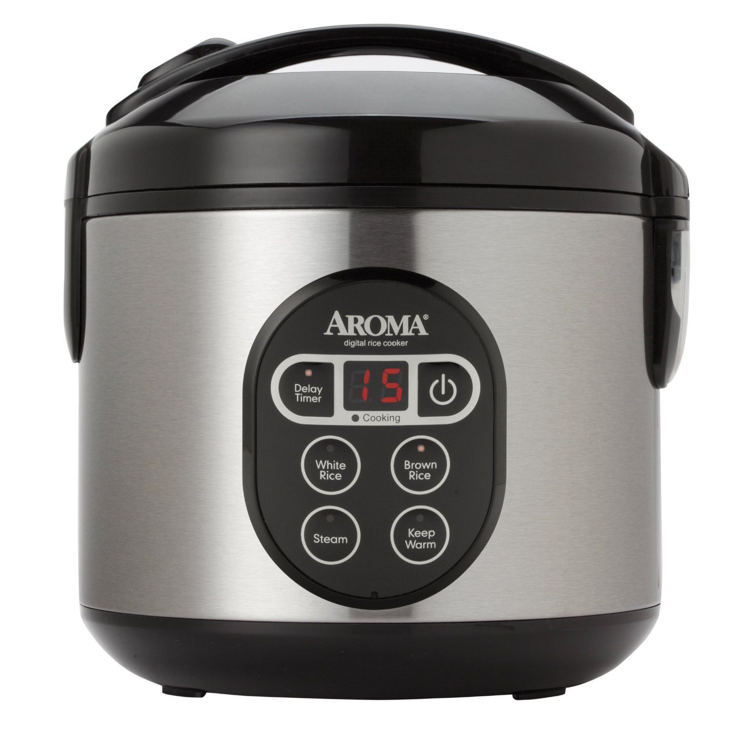 aroma housewares arc 914sbd digital cool touch rice cooker and food steamer with stainless steel exterior silver  kitchen applianceskitchen     aroma housewares arc 914sbd digital cool touch rice cooker and      rh   pinterest com