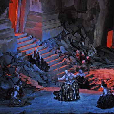 Elektra with Chicago Lyric Opera  #Strauss #opera #singing #soprano #Chicago  © Robert Kusel