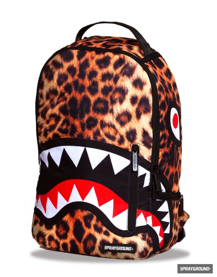 The Leopard Shark Backpack | Sprayground Backpacks, Bags, and ...
