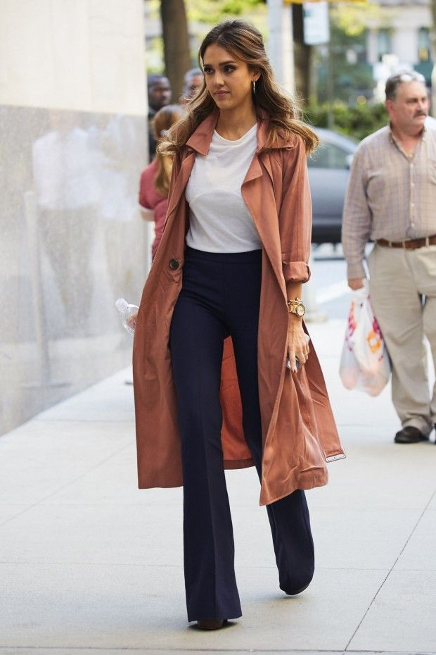 f8a1b5731b 7 Looks: New York Fashion Week fora das passarelas | Jessica Alba ...