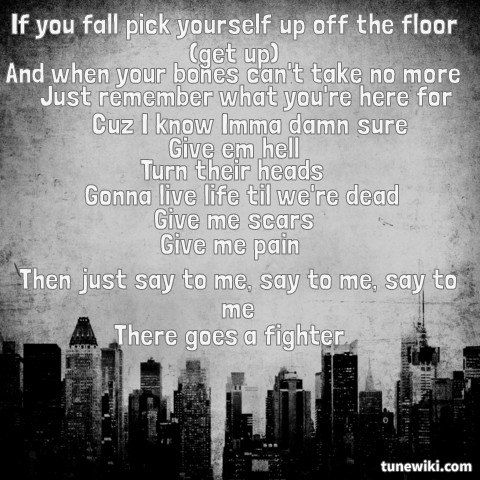The Fighter~ Gym Class Heroes