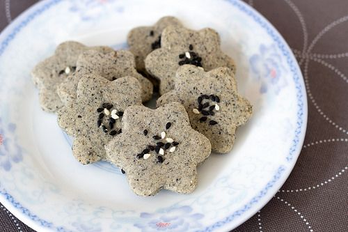 Black Sesame Cookies  from ohdenny.com