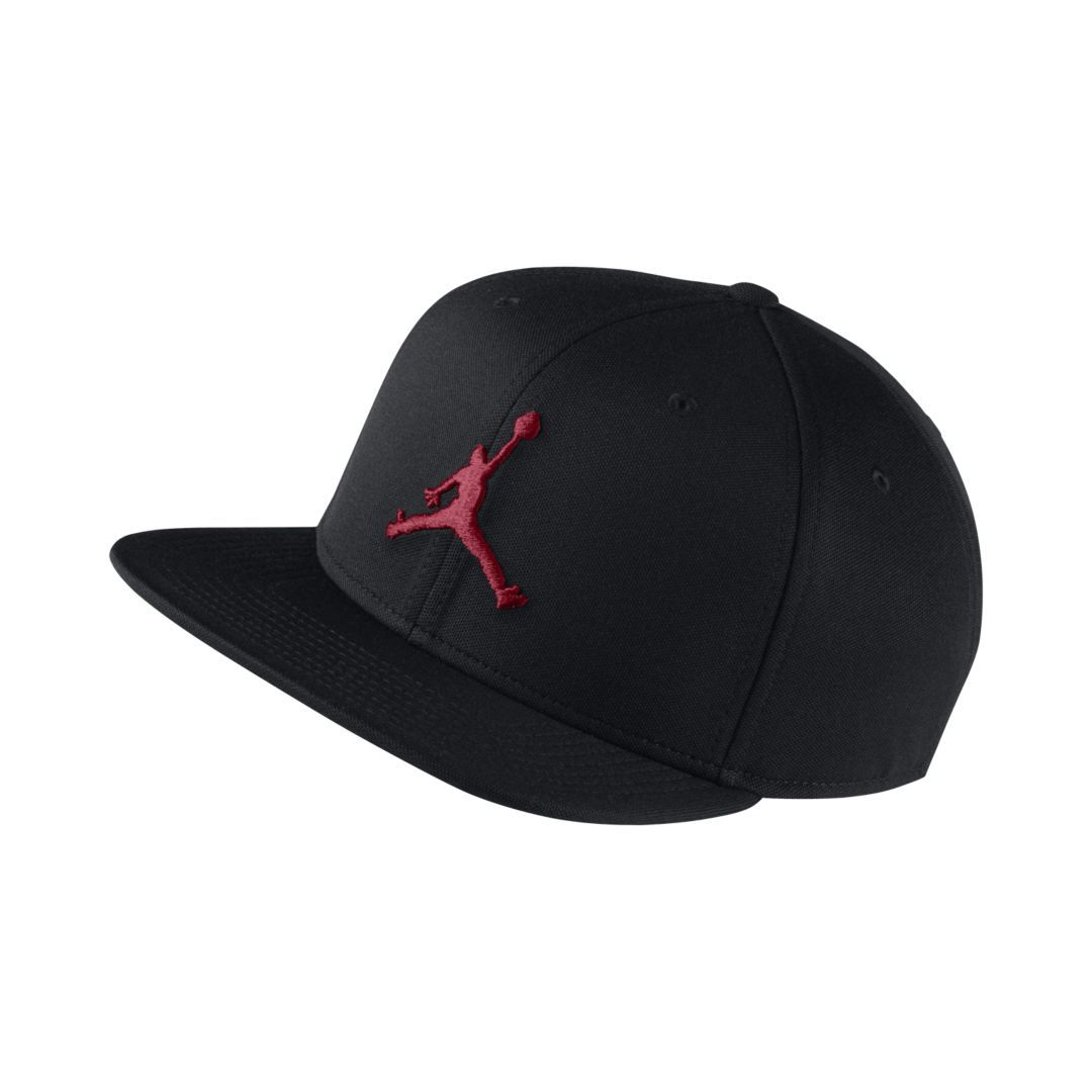 cheap for discount a37d9 4c82a Jordan Jumpman Snapback Adjustable Hat Size ONE SIZE (Black)