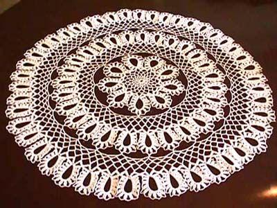 Crochet Pattern Central - Free Doily Crochet Pattern Link   dorretts ...