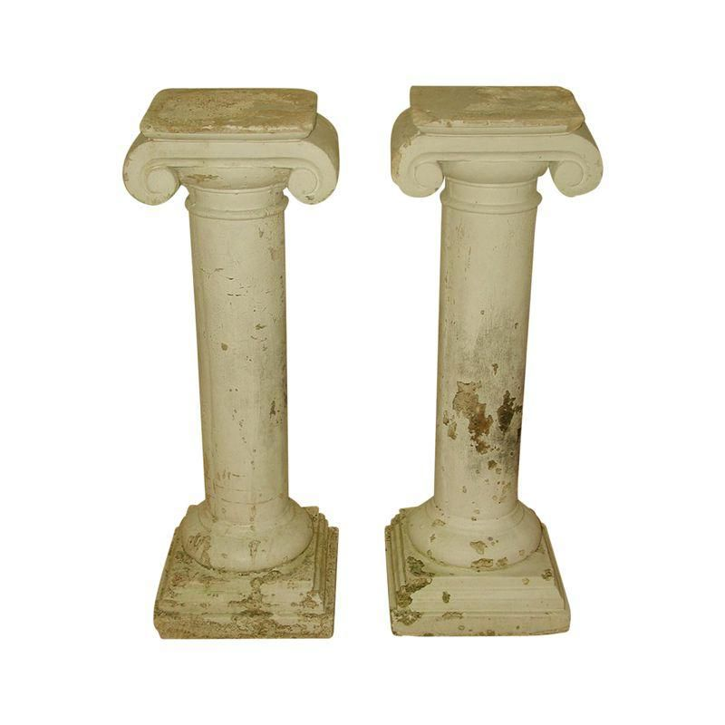 Architectural Plaster Column Table Bases A Pair Products