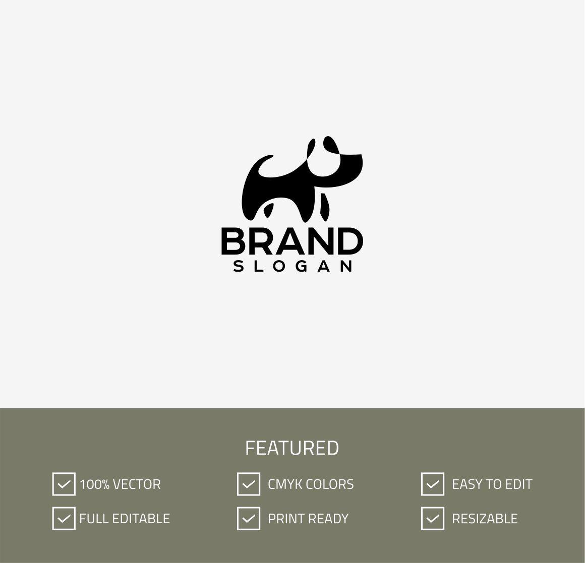 Download Dog Logo Template 67771 Dog Logo Dog Collar Tags Preppy Dog Collar
