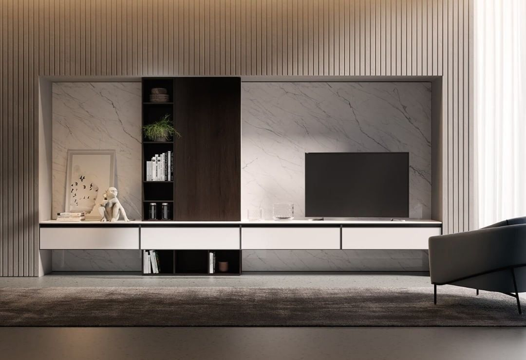 Pin On Tv Panel #tv #cabinet #design #in #living #room