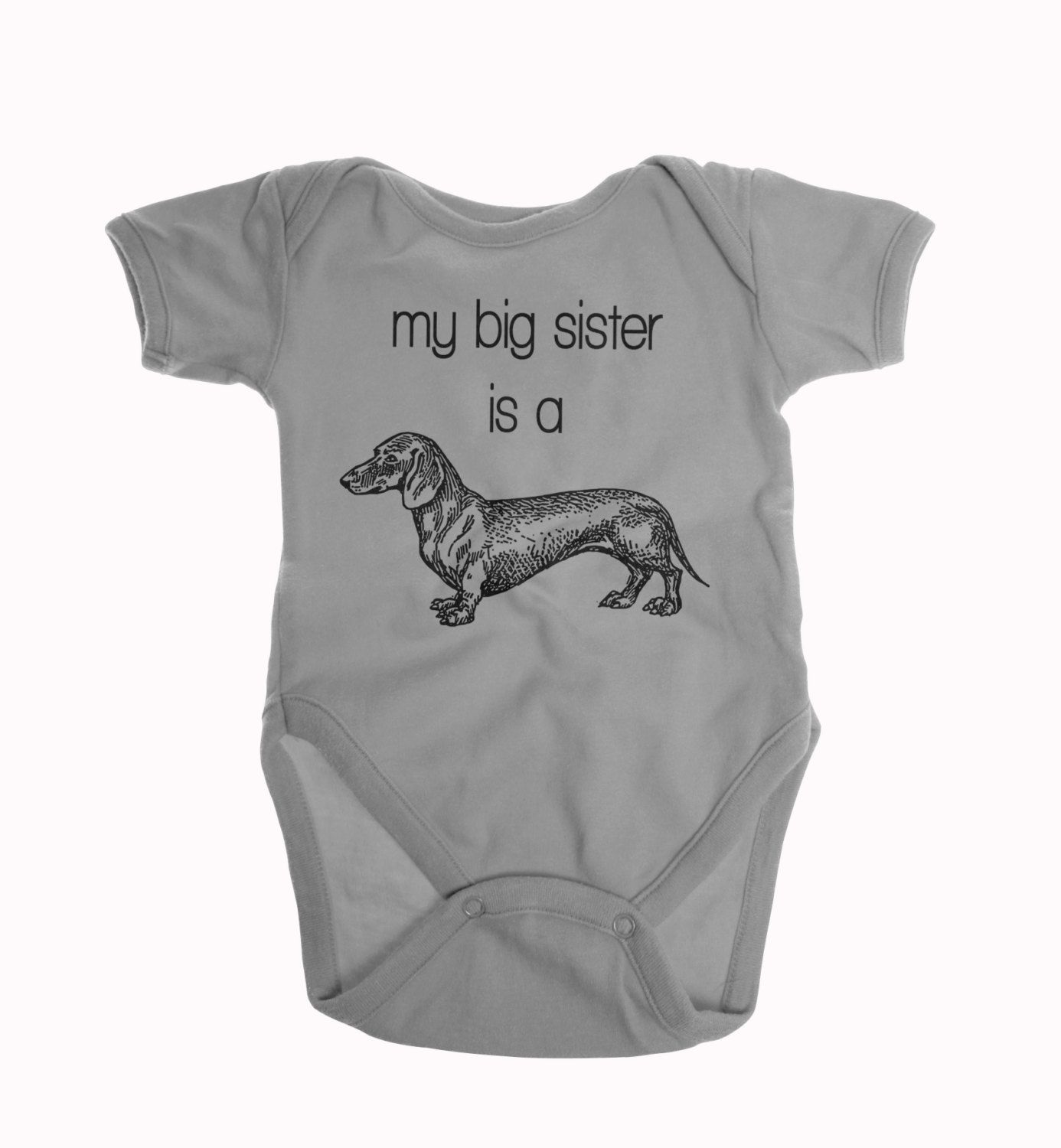 30b7156c5 My Big Sister is a Dachshund, Dachshund Baby Clothes, Big Sister Shirt, Dog  and Baby, Dog Baby Clothes, Big Sister Dog, Gender Neutral Baby by  BurpsandGrrs ...