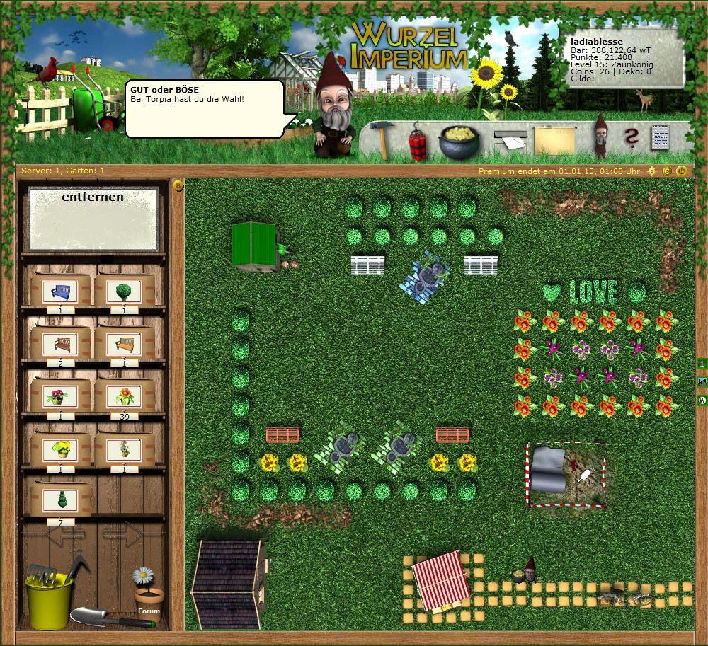 Dein Eigenes Virtuelles Gartenparadies Frisches Gemuse Gartenzwerge Und Jede Menge Spass Das Ist Das Kostenlose Browsergame Wurz Wurzel Gartenparadies Garten