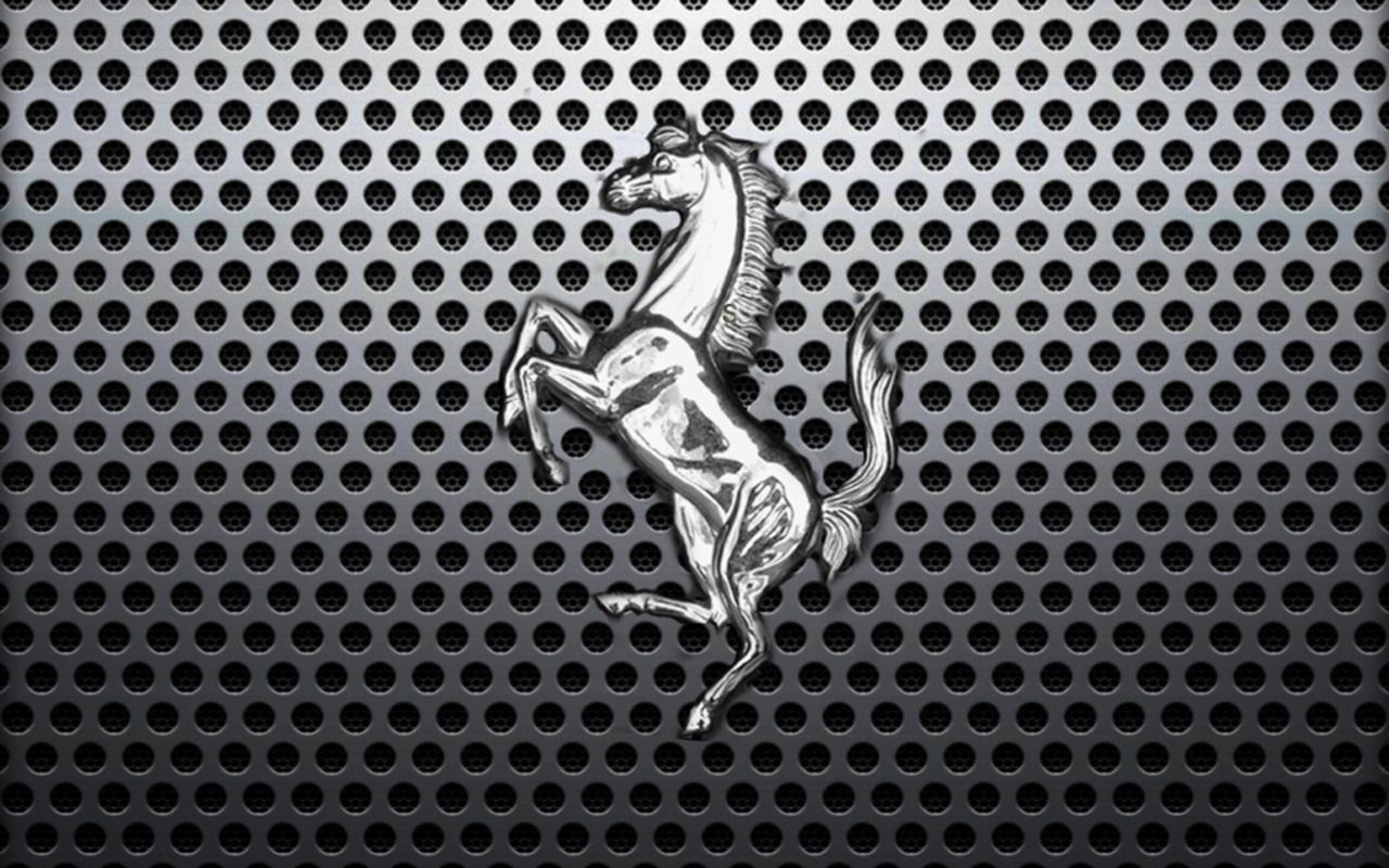 ferrari silver horse logo hd widescreen wallpapers car | <x