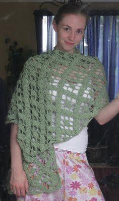 Mostly Nerdy Crochet: I Think it's a Shawl