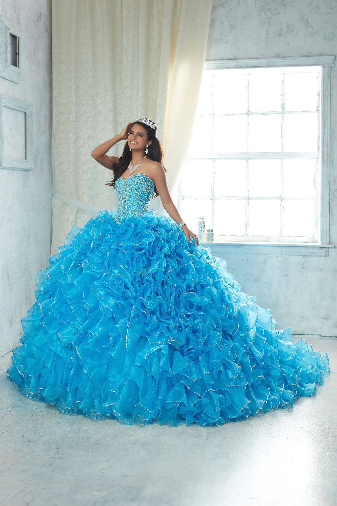 56e20d41acd House of Wu Quinceanera Dress Style 26850 in 2019