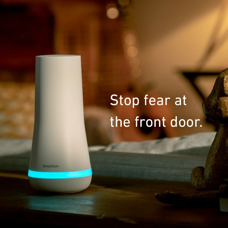 Simplisafe Was Built With Renters In Mind It Won T Damage Your Walls You Can Take It With You When Home Safety Home Security Home Security Systems