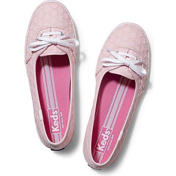 Keds teacup, Pink shoes flats