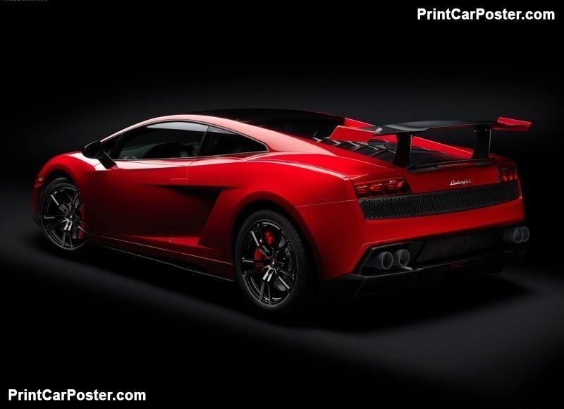 Lamborghini Gallardo Lp570 4 Super Trofeo Stradale 2012 Poster