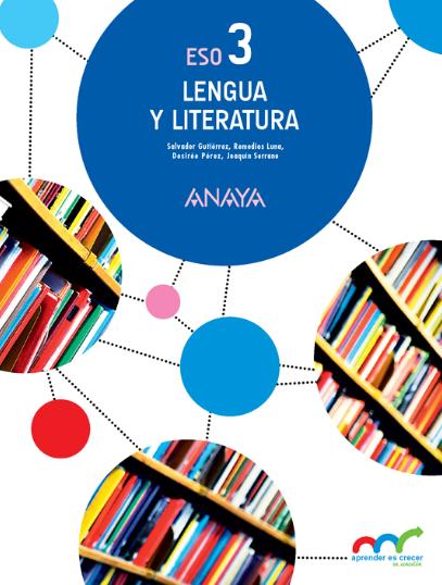 Solucionario Lengua Castellana Y Literatura 3 Eso Anaya Lengua Y Literatura Lengua Literatura