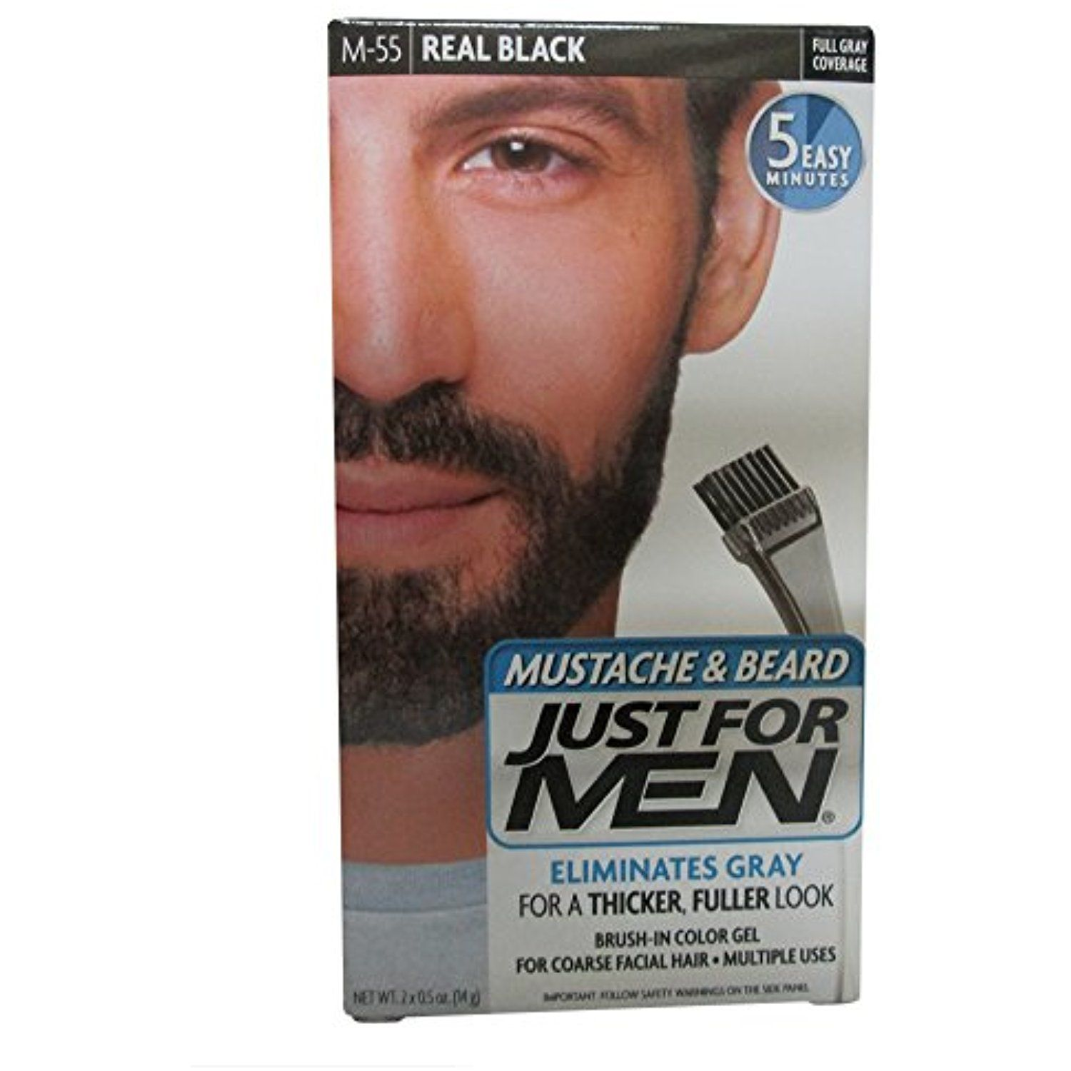 JUST FOR MEN Color Gel Mustache #HairColoringProducts | Hair ...