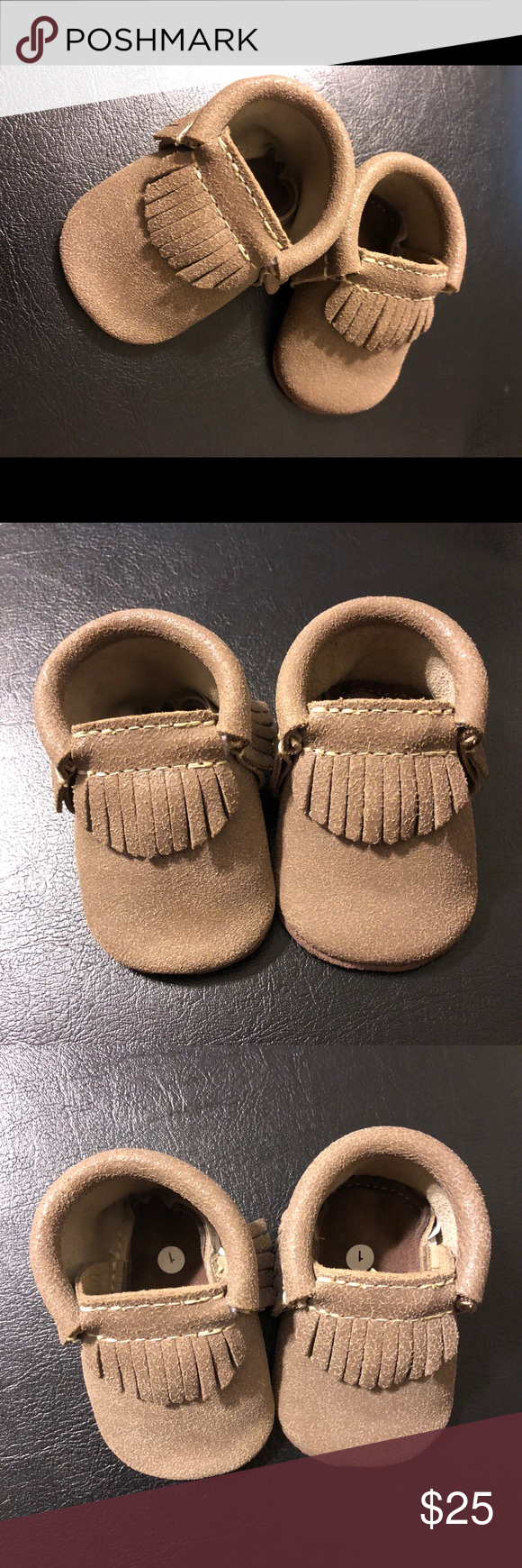 First steps baby moccasins | Baby