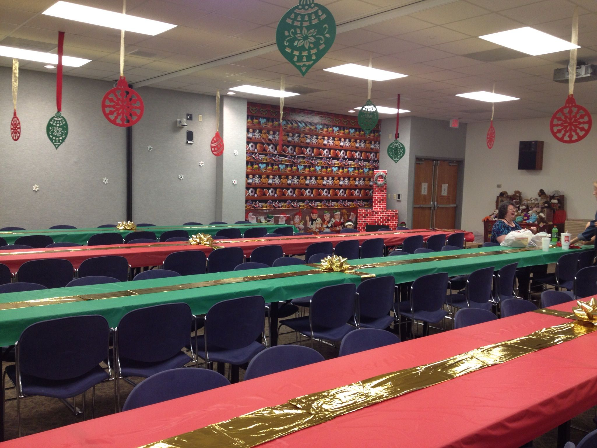 Awesome Fun Ideas For Office Christmas Party Part - 6: Office Christmas Party Decorations