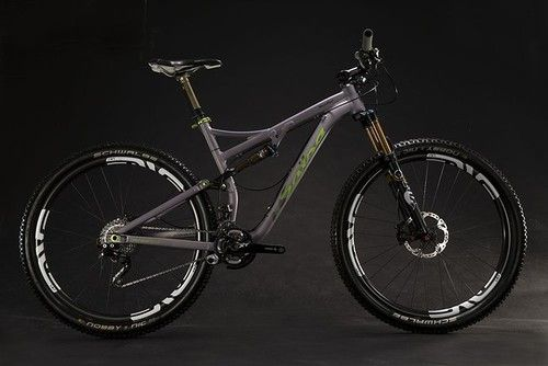 Salsa Cycles: Split Pivot rear at Horsethief and Spearfish in 2014