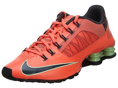 sports shoes d6dfa fee2d Nike Shox Superfly R4 Mens 653480-800 Hot Lava Athletic Running Shoes Size 8