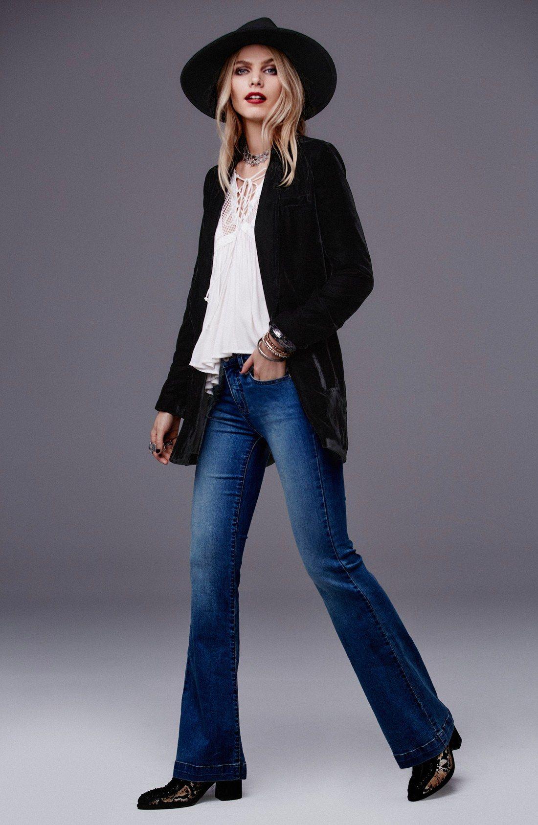 Free People Slouchy Velvet Blazer | jacket & vest ...