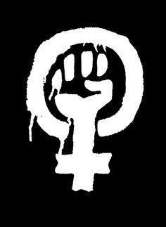 30c77b5a0f752 ... Gods No Masters. Women s Equal Rights Gender Symbol Solidarity T-Shirt  (  Feminism  Justice )