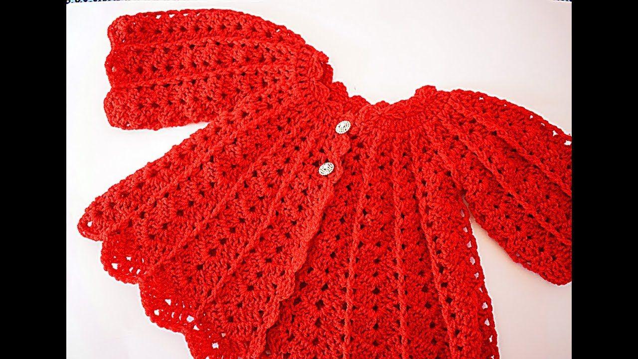 Coat set with white dress Majovel crochet #crochet #crochetveryeasy