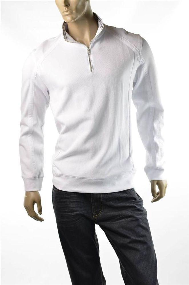 Calvin Klein Shirt Mens Sweatshirt Active Sweater French 1/2 Zip Henley Sz L NWT #CalvinKlein #12Zip #5Gables