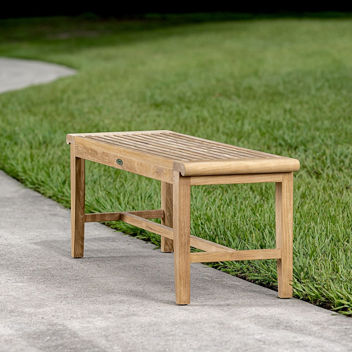 4 Ft Laguna Teak Backless Bench Westminster Teak Westminster Teak Teak Patio Furniture Teak Bench