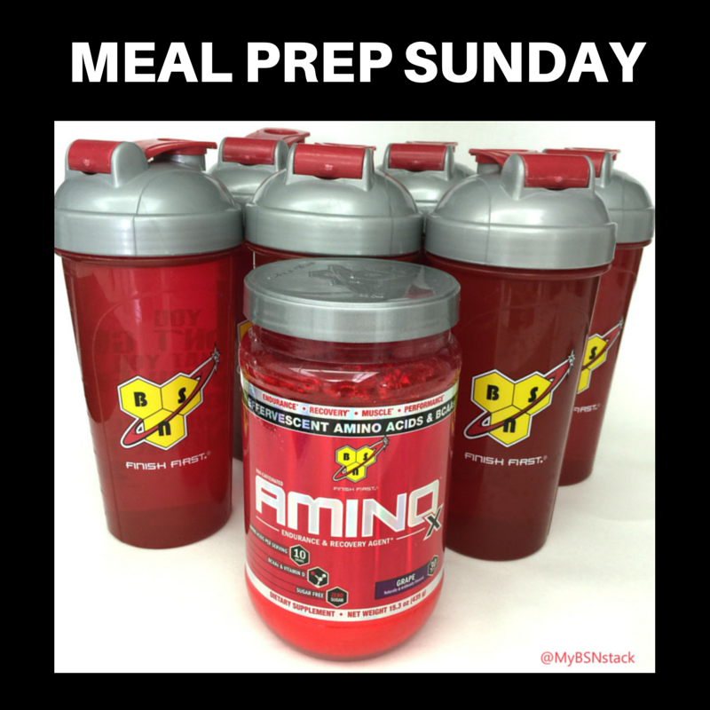 BCAAs and Intermittent Fasting Sunday meal prep