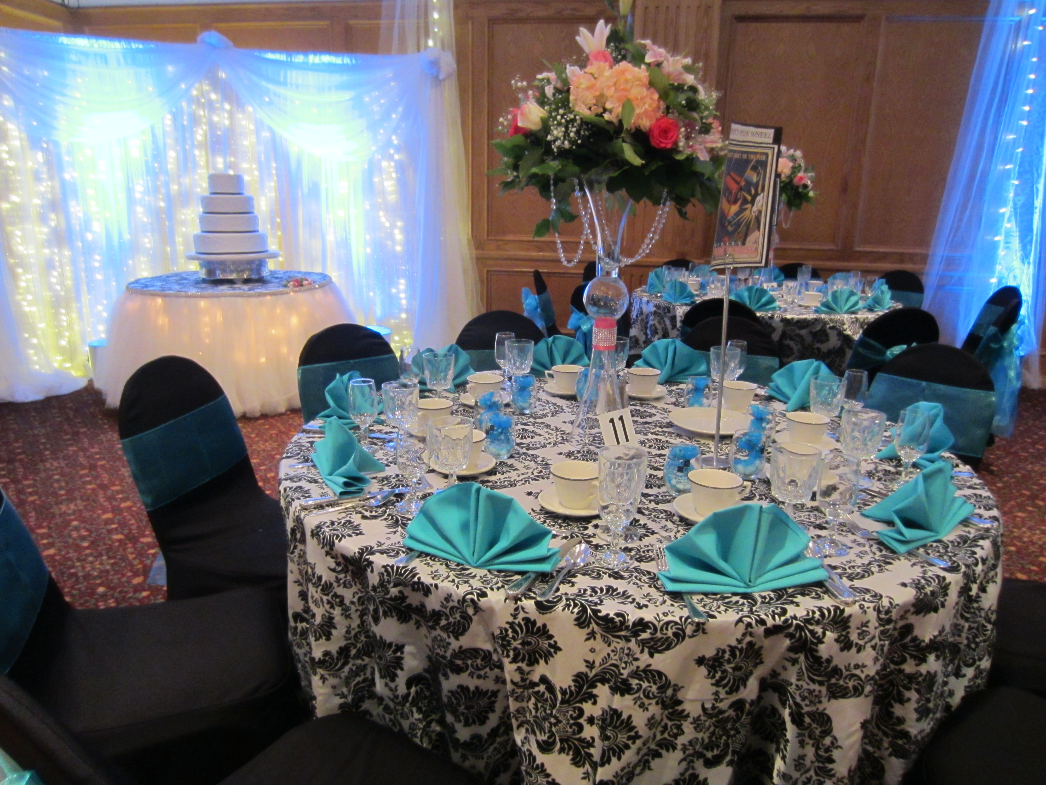 Beautiful Chair Covers For Weddings World Market Cushions Wedding Set Up With Floor Length Black And White