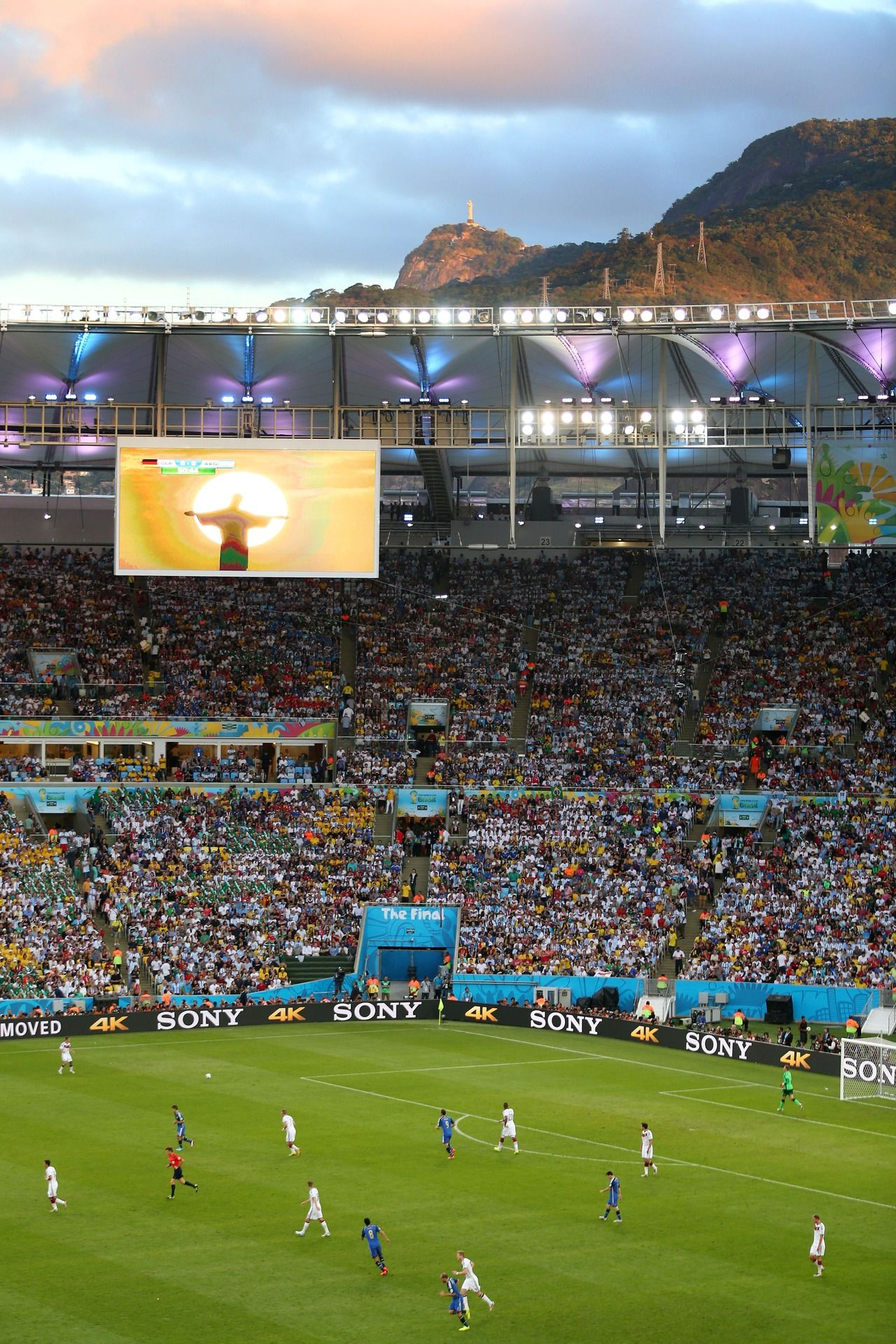 World Cup Final Argentina Vs Germany July 13 2014 Wc2014 Worldcup Worldcup2014 Olympic Venues Football Brazil Fifa World Cup