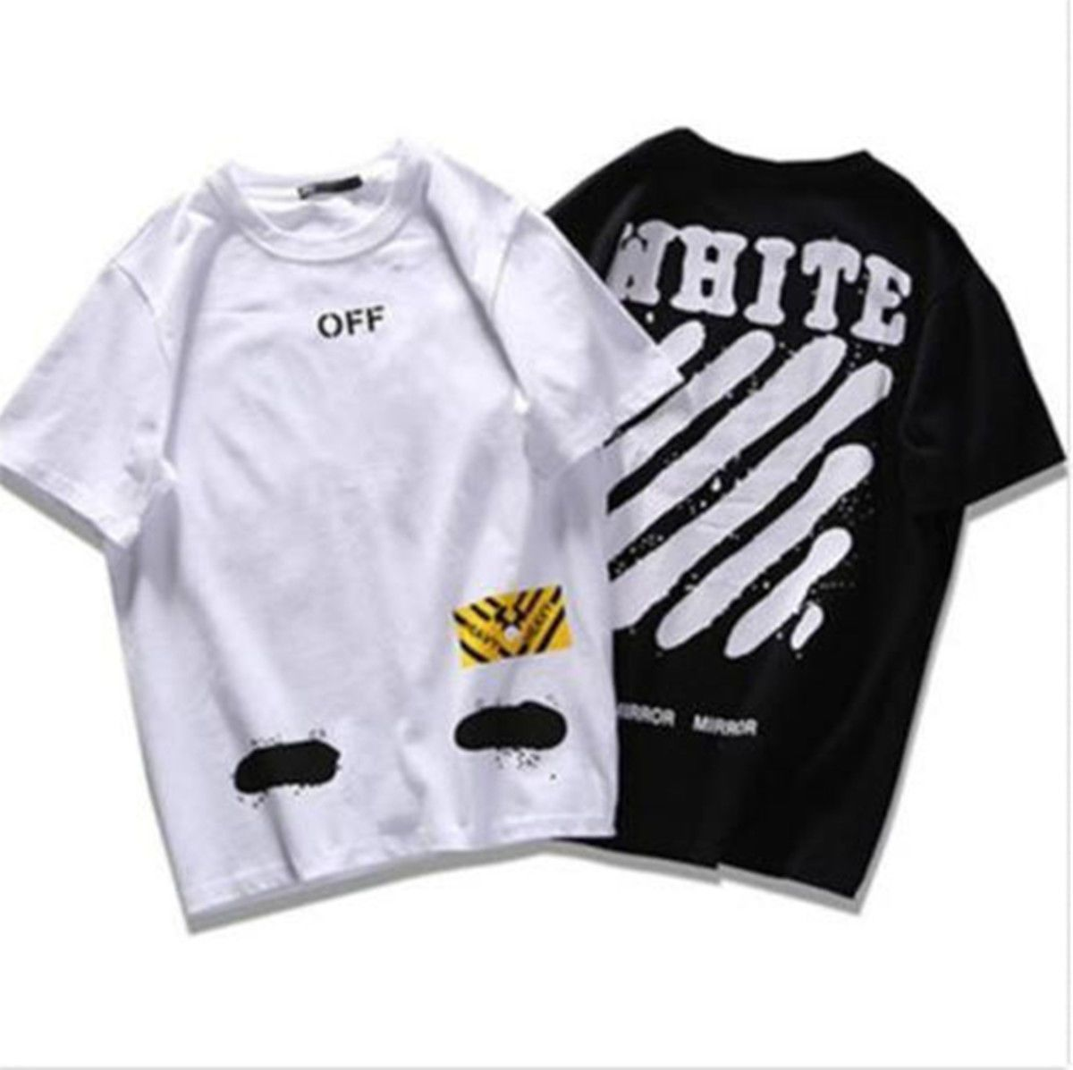27f169e31c4c Kpop Off White Tshirt C O Virgil Abloh Pyrex Vision Summer Splash-Ink Shirt