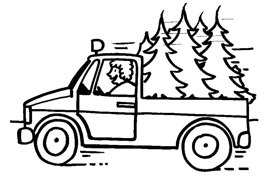 Coloring Page Truck Coloring Pages 0 Truck Coloring Pages Tree Coloring Page Christmas Tree Coloring Page