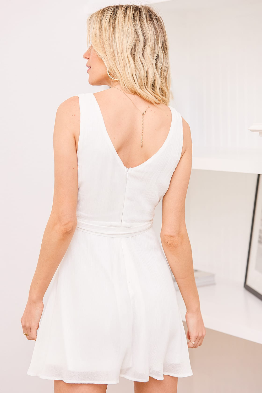 Wonderful Ways White Faux Wrap Skater Dress In 2021 Dresses Skater Dress White Mini Dress [ 1500 x 1000 Pixel ]
