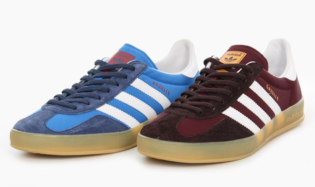 adidas gazelle indoor brown