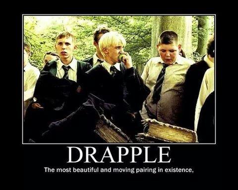 Drapple Harry Potter Funny Harry Potter Cast Draco Malfoy Imagines