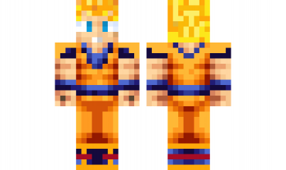 Minecraft Skin Gokussj Find It With Our New Android Minecraft - Baixar skin para minecraft pe goku