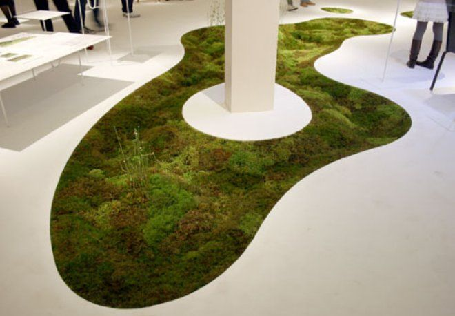Terramac Moss Carpet   More Moss Art Than You Can Shake A Stick At At This