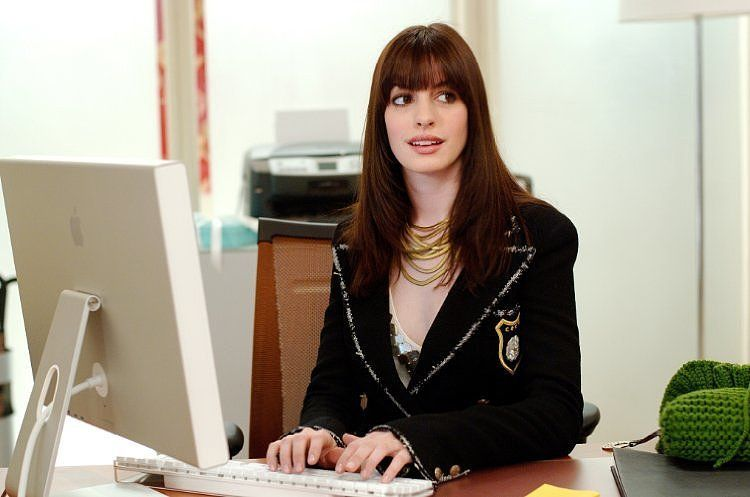 Anne Hathaway Fashion in The Devil Wears Prada   Pictures   POPSUGAR Fashion