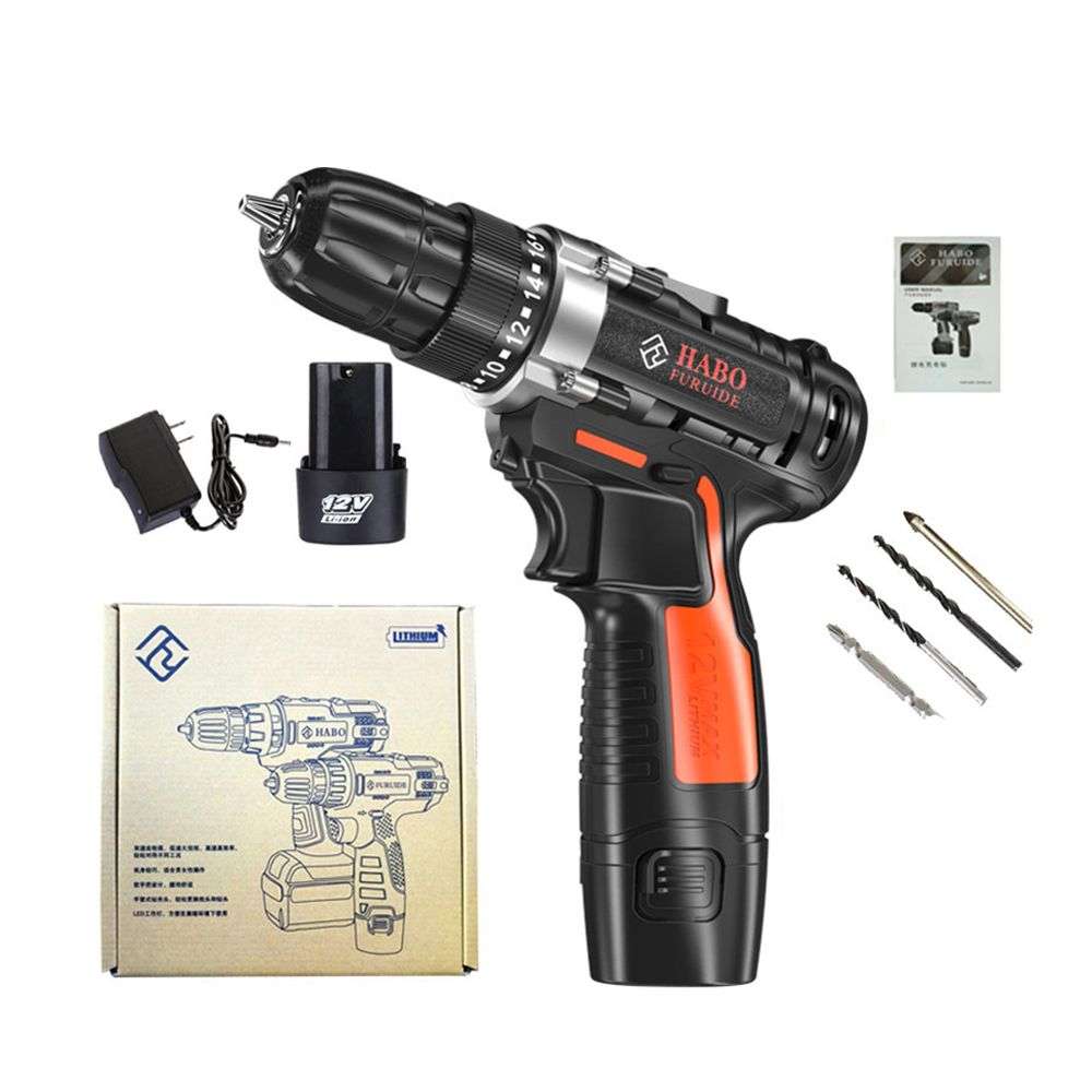 Ed05 12v Cordless Drill Screwdriver Driver Hand Electric Drills Power Drill Machine With Power Electrical Tools Electrical Tools Cordless Drill Electric Drills