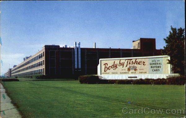 Fisher Body Division General Motors Corp Flint Michigan General Motors Flint
