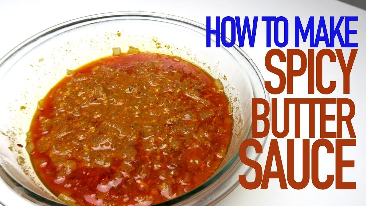 How to make taes spicy butter seafood boil sauce