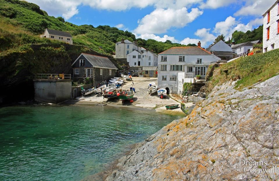 Tranquility In The Harbour At Lovely Portloe On The Roseland Peninsula In Cornwall Cornwall England England Travel Beautiful Places To Visit