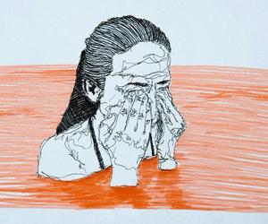 Contour Line Drawing Face : Pinterest: @simplyanalis☼ ᶜᴬᴺᵛᴬˢ pinterest artsy