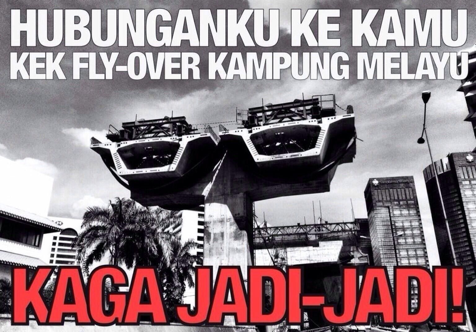 Ibarat Flyover Kampung Melayu Wkwkwk Pinterest