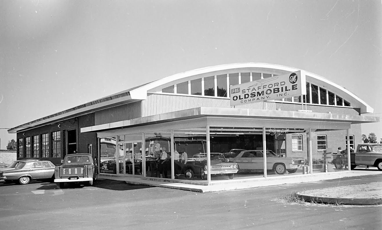 Stafford Oldsmobile Gmc Company Inc Dealership Dealership Car Dealership Dealership Showroom