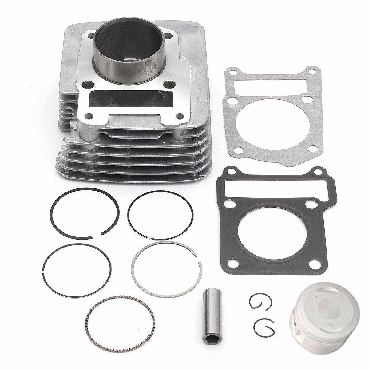 Cylinder Piston Rings Top End Set Gasket Kit for Yamaha TTR125 TTR125E  2000-2004